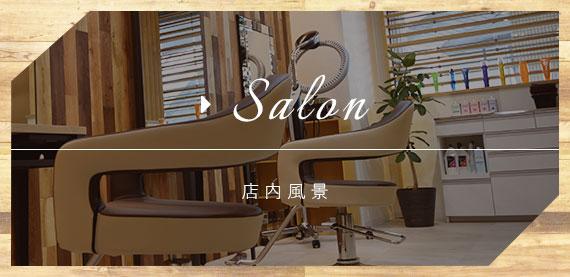 Salon 店内風景